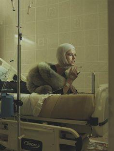 Linda Evangelista by Steven Meisel for Vogue Italia July 2005