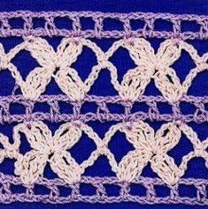 22 Patrones de Puntos Crochet Calados / Gratis | Todo crochet