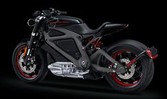 Harley-Davidson Project Live Wire_electric bike concept