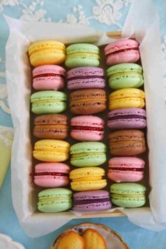 Macarons.  The best part is that they're gluten free (usually).