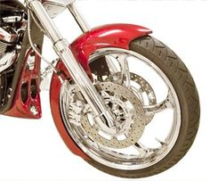 LOW AND MEAN FULL WRAP FRONT FENDER - YAMAHA RAIDER