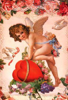 victorian angels | Cherub of Saint Valentine