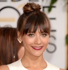 Rashida Jones http://www.parade.com/252115/jennytzeses/best-golden-globes-beauty-jennifer-lawrence-sandra-bullock-more/