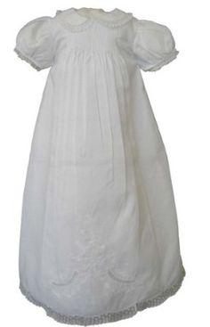 Feltman Brothers Infant Girls White Christening Baptism Gown -White-6M-9M Feltman Brothers. $99.00