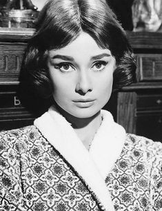 Audrey Hepburn in Love In The Afternoon (1957).