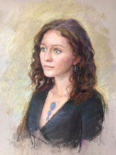Portrait Artist working in Oils, Pastels and charcoal Artist At Work, Pastels, Mona Lisa, Charcoal, Portraits, Artwork, Painting, Beautiful, Work Of Art