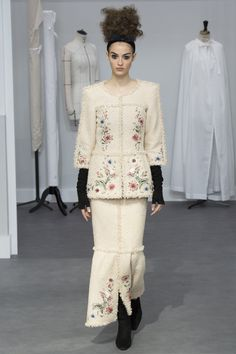Chanel Fall 2016 Couture Fashion Show - Camille Hurel