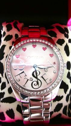 i <3 betsy johnson watches  - i have this watch wear it everyday!