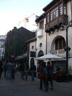 Barrio Lastarria - Santiago ,Chile , arte, gastronomía