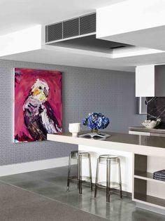 Large Scale Art by Greg Natale Large Scale Art, Installation Art, Art Installations, Design Fields, Fire Heart, Kitchen Design, Art Pieces, Indoor, Interior Design