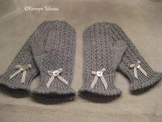 Fannyn Talossa: Mistä on kauniit lapaset tehty? Mittens, Winter Hats, Gloves, Knitting, Diy, Inspiration, Fashion, Breien, Fingerless Mitts