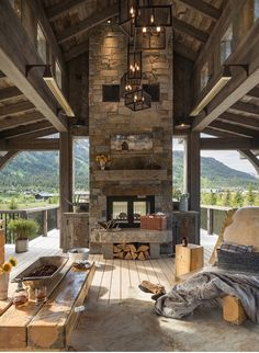 More pins like this -> ∘⚜∘Rustic Log Homes∘⚜∘ - Pinterest: Crackpot Baby 🍒 Cabin Fever