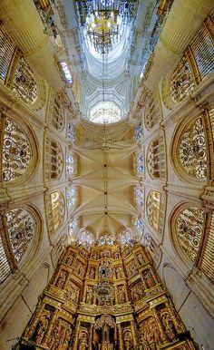 Interior. Burgos Cathedral, Camino de Santiago, Burgos, Spain.