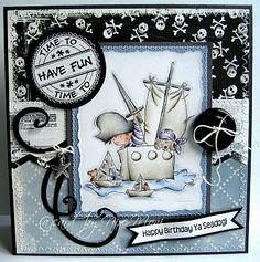 Fantastic Boy's card