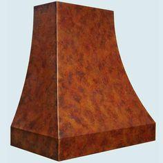 Copper  Range Hood  # 4272