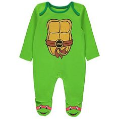 Teenage Mutant Ninja Turtles All in One with Cape  | Baby | George at ASDA