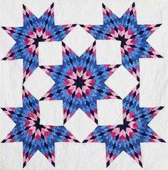 Barbara Brackman's MATERIAL CULTURE: Broken Star Variations