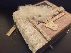 "Fotoalbum ""Vinage One"" Scrapbook Journal, Scrapbook Pages, Scrapbooking, Mini Albums, Paper Book, Book Binding, Book Crafts, Decoupage, Decorative Boxes"
