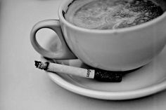 Coffee and cigarettes are my only escape(:
