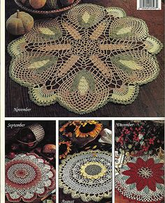A Year of Doilies Book Two Crochet Pattern by grammysyarngarden, $5.50