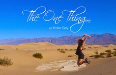 The One Thing: How Travel Changes You.