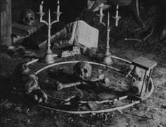 J.P- This is what I think they would have when Macbeth went to go visit them so they could tell him more about what could happen. This looks creepy and I think only witches would use this.