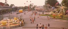 Seabreeze Amusement Park in Irondequoit, NY is the inspiration for Heavenly Shores Amusements in Shore Haven.