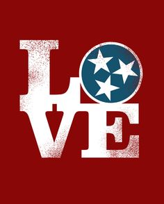 Makes me miss you Melissa Caraway! I do love Tennessee (for a visit ;) Poster from Be True Design