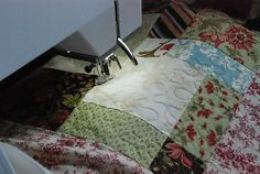 Anyone Can Quilt: Machine Quilting Tutorial.