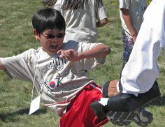 Korean Heritage Camp 2012 - tae kwon do!