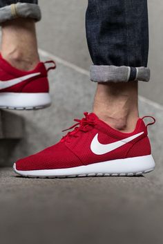 size 40 4dcb8 44a42 Gym Red Roshes  nike  sneakers Red Roshes Nike, Red Nike Shoes, Women