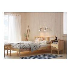 TARVA Mesa de cabeceira, pinho - 48x62 cm - IKEA