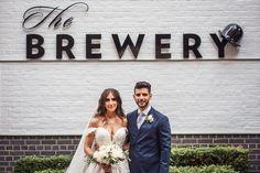 Luke & Melissa Credits: Ivy Leaf Photography Brewery Wedding Reception, Wedding Receptions, Leaf Photography, Ivy Leaf, Wedding Dresses, Fashion, Bride Dresses, Moda, Bridal Gowns