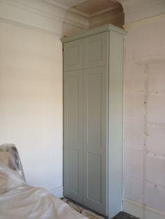 Wardrobe main bedroom - Also wardrobe / cupboard for spare bedroom right alcove.