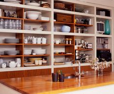 desire to inspire - desiretoinspire.net - Reader request - butcher block counters and sinks