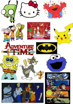 """""""Just Some Awesome Cartoons!"""" by volleychickss ❤ liked on Polyvore"""