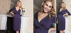 Gwen Kleid blau aus der Kategorie Festliche Umstandsmode von Mamarella - Details