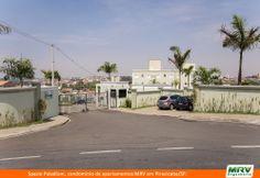 Paisagismo do Palladium. Condomínio fechado de apartamentos localizado em Piraricaba / SP.