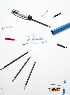 Bic 4 Color Pen - Dissection