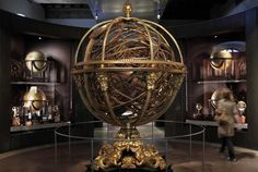 Armillary sphere at the Gallileo Museum in Florence