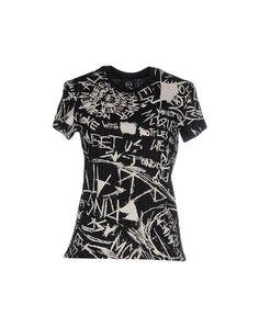 MCQ ALEXANDER MCQUEEN T-Shirt. #mcqalexandermcqueen #cloth #dress #top #skirt #pant #coat #jacket #jecket #beachwear #