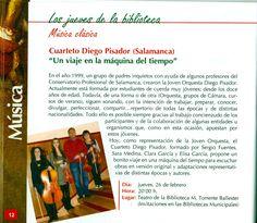 Cuarteto Diego Pisador. Febrero 2009