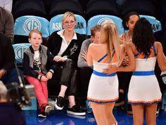 Cate Blanchett and Sons at Knicks Game November 2016 | POPSUGAR Celebrity