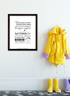 Lastenlaulut ja lorut – Pikkunorsu Kids Songs, Letter Board, Lettering, Poster, Inspiration, Biblical Inspiration, Nursery Songs, Posters, Letters