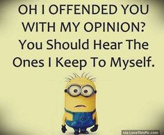 Everyone loves minion, so what is better then minions with a funny attitude? Here we have 50 funny minion quotes all with a fun and sarcastic attitude that will have you laughing out loud. These minion quotes are funny and relatable, especially. Funny Minion Pictures, Funny Minion Memes, Minions Quotes, Minions Pics, Funny Humor, Minion Stuff, Hilarious Jokes, Fun Funny, Minions Friends