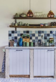 """This country style kitchen is from our feature """"French Finesse"""""""