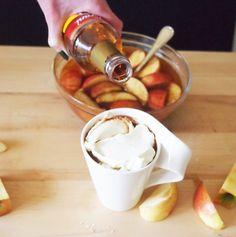 Spiked Caramel Apple Pie Cider