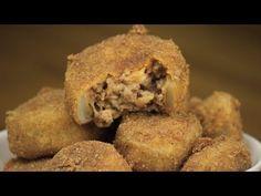 Εύκολα onion rings με λαχταριστή γέμιση   FOOD VIDEOs - YouTube Street Food, Food Videos, Muffin, Breakfast, Youtube, Morning Coffee, Japanese Street Food, Cupcakes, Muffins