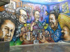 MEXICO CITY METRO GRAFFITI