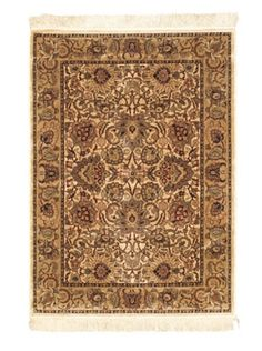 75% OFF Persian Traditional Rug, Beige, 3' 3